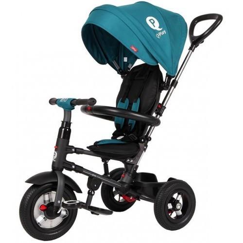 Zložljiv tricikel QPLAY RITO AIR – turkizen