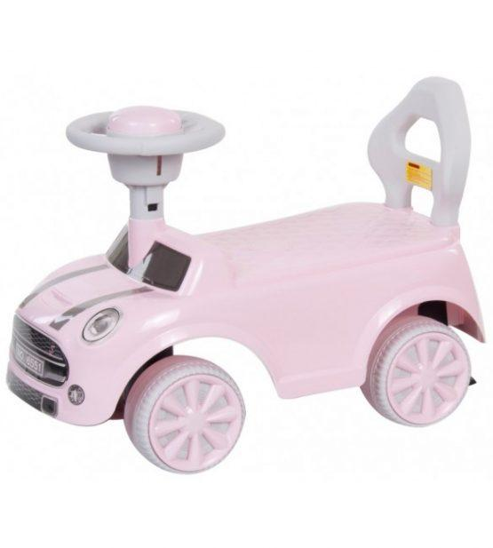 Avto poganjalec REBEL MINI – roza