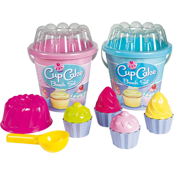 Vedro set CUPCAKE, roza