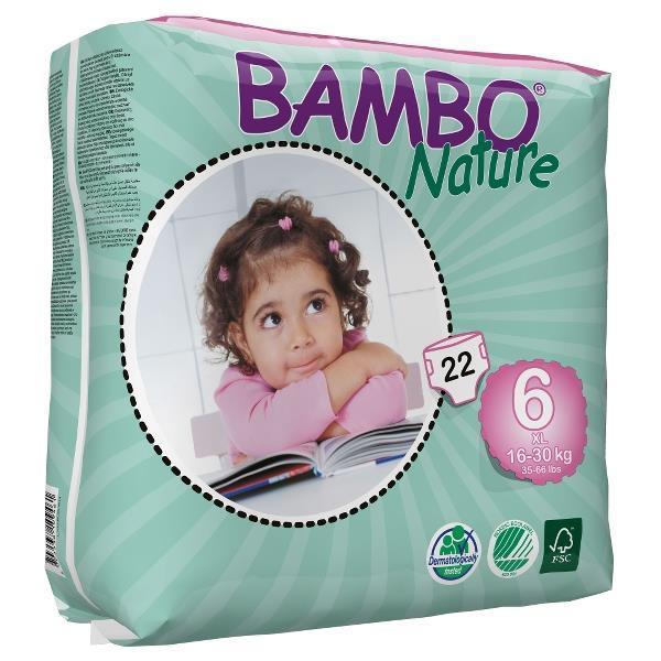 Plenice BAMBO Nature 6
