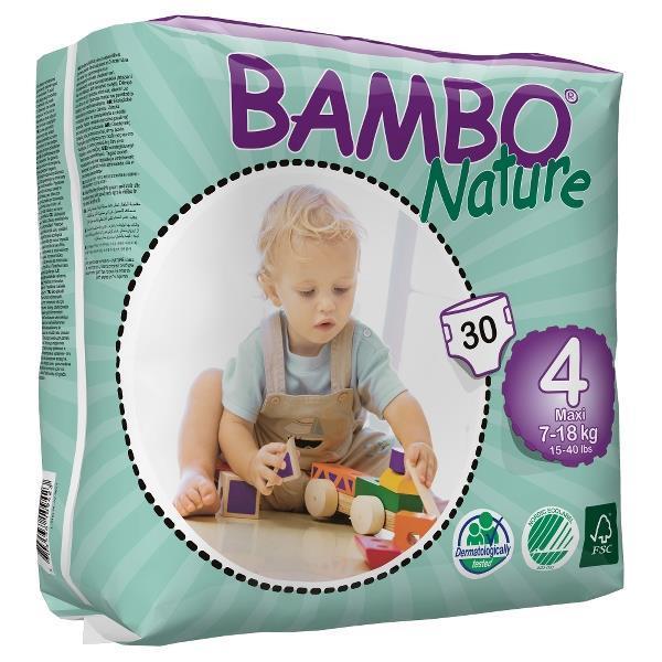 Plenice BAMBO Nature 4