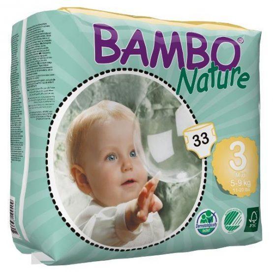 Plenice BAMBO Nature 3