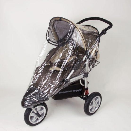 Univerzalna prevleka za dež za otroške vozičke