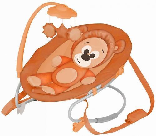 Otroški ležalnik Joy, oranžen