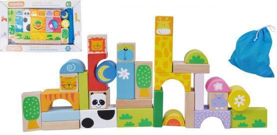 Lesene kocka za zlaganje