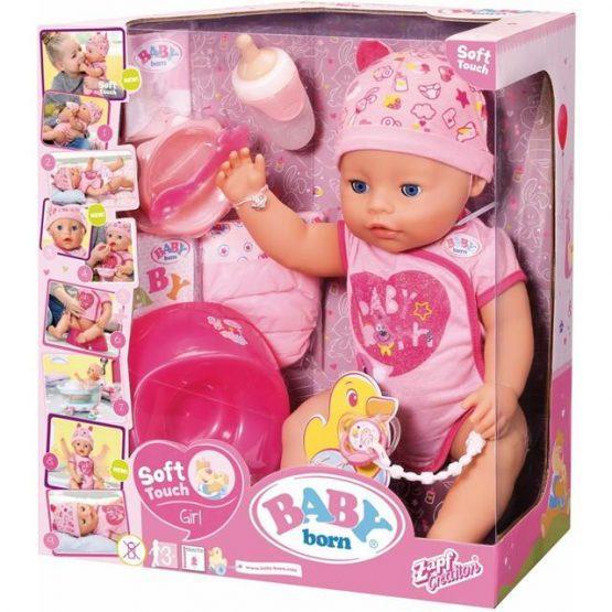 Dojenček punčka BABY BORN, Zapf