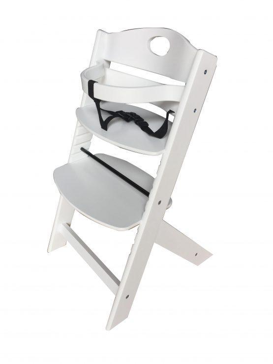 Lesen stolček za hranjenje GROONY, bel