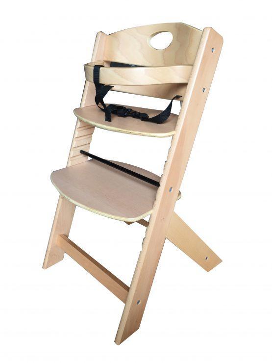 Lesen stolček za hranjenje GROONY, natur
