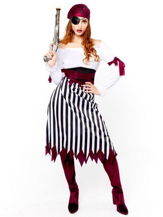 Kostum PIRATKA, ženski kostum