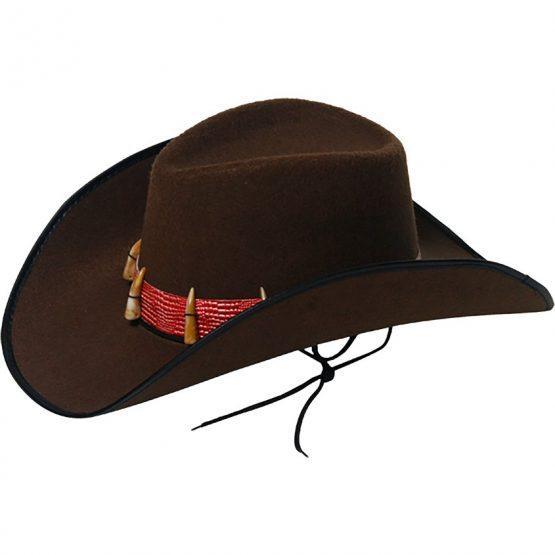 Kavbojski klobuk, odrasli