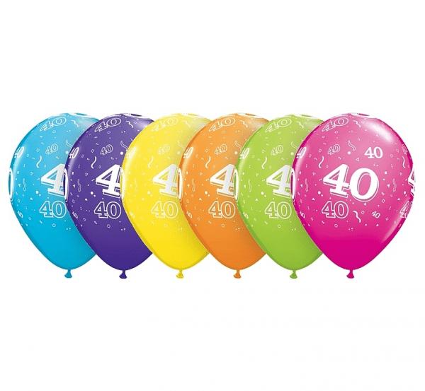Baloni paket, 40. rojstni dan