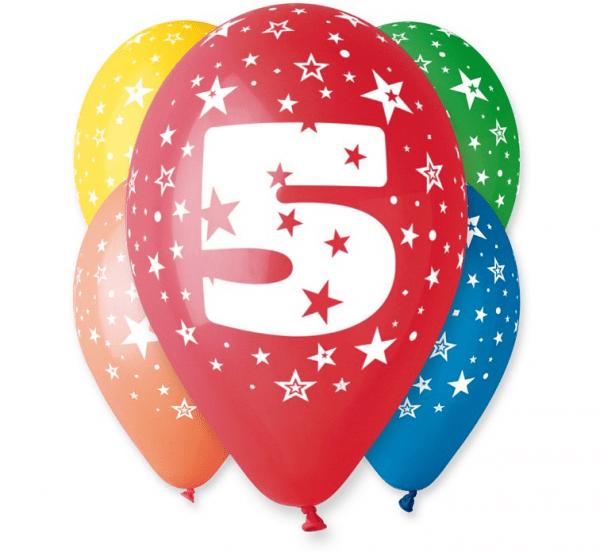 Baloni paket, 5. rojstni dan