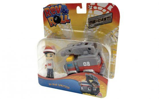 Igrača REV&ROLL, Bo&Sprittzer set
