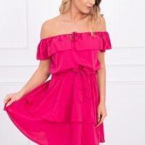 eng_pl_Off-the-shoulder-dress-fuchsia-14977_3