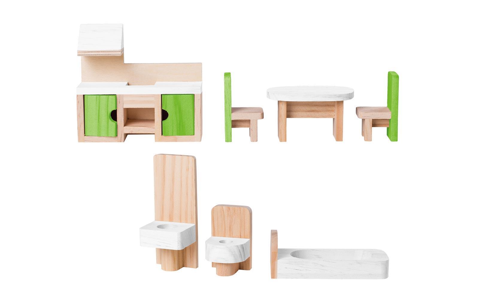lesena hiška woody