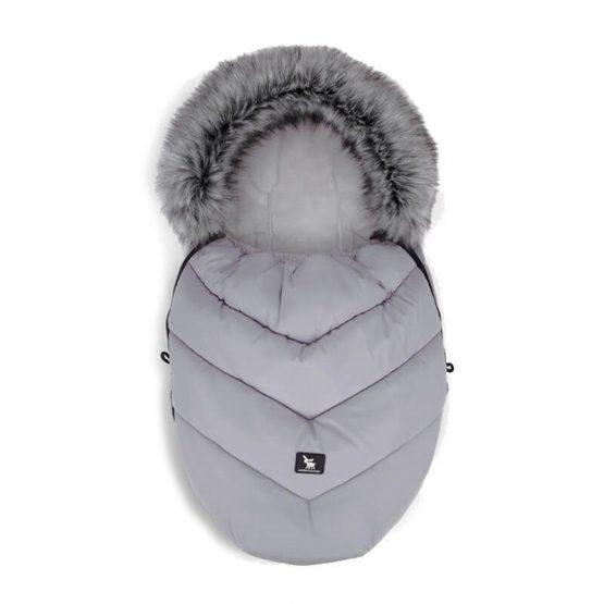 Siva zimska vreča MINI Moose YUKON,  Cottonmoose