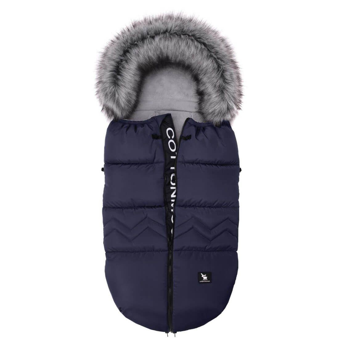Temno modra zimska vreča Moose YUKON North, Cottonmoose