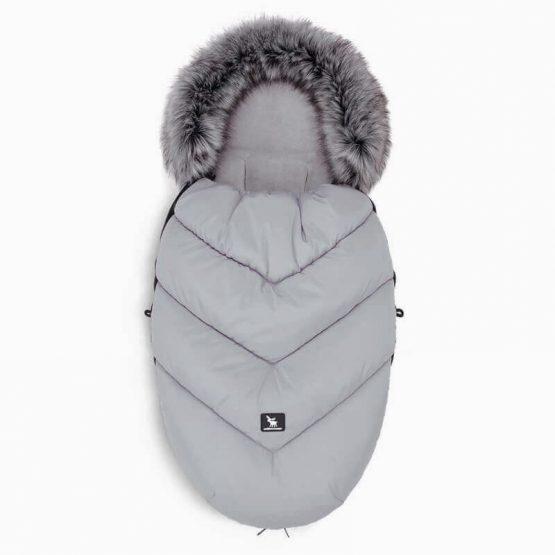 Siva zimska vreča Moose YUKON, Cottonmoose