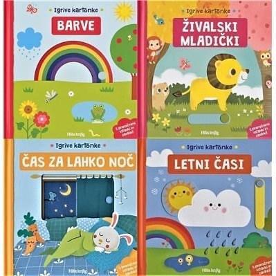 Komplet knjig IGRIVE KARTONKE