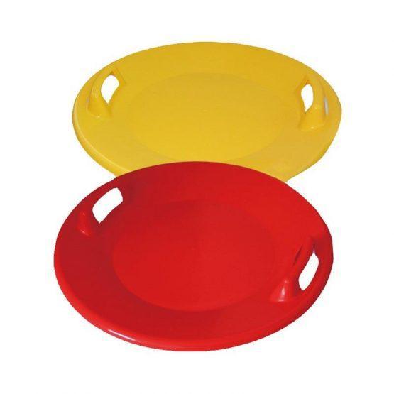 Krožnik za sankanje UFO, rumen