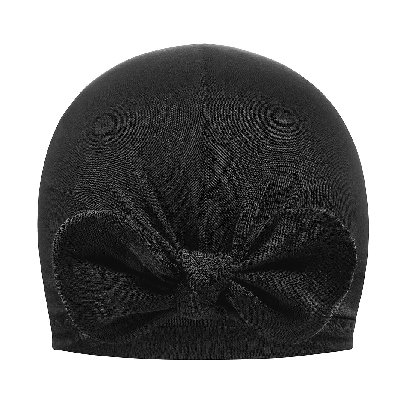 Otroška turban kapica, BLACK