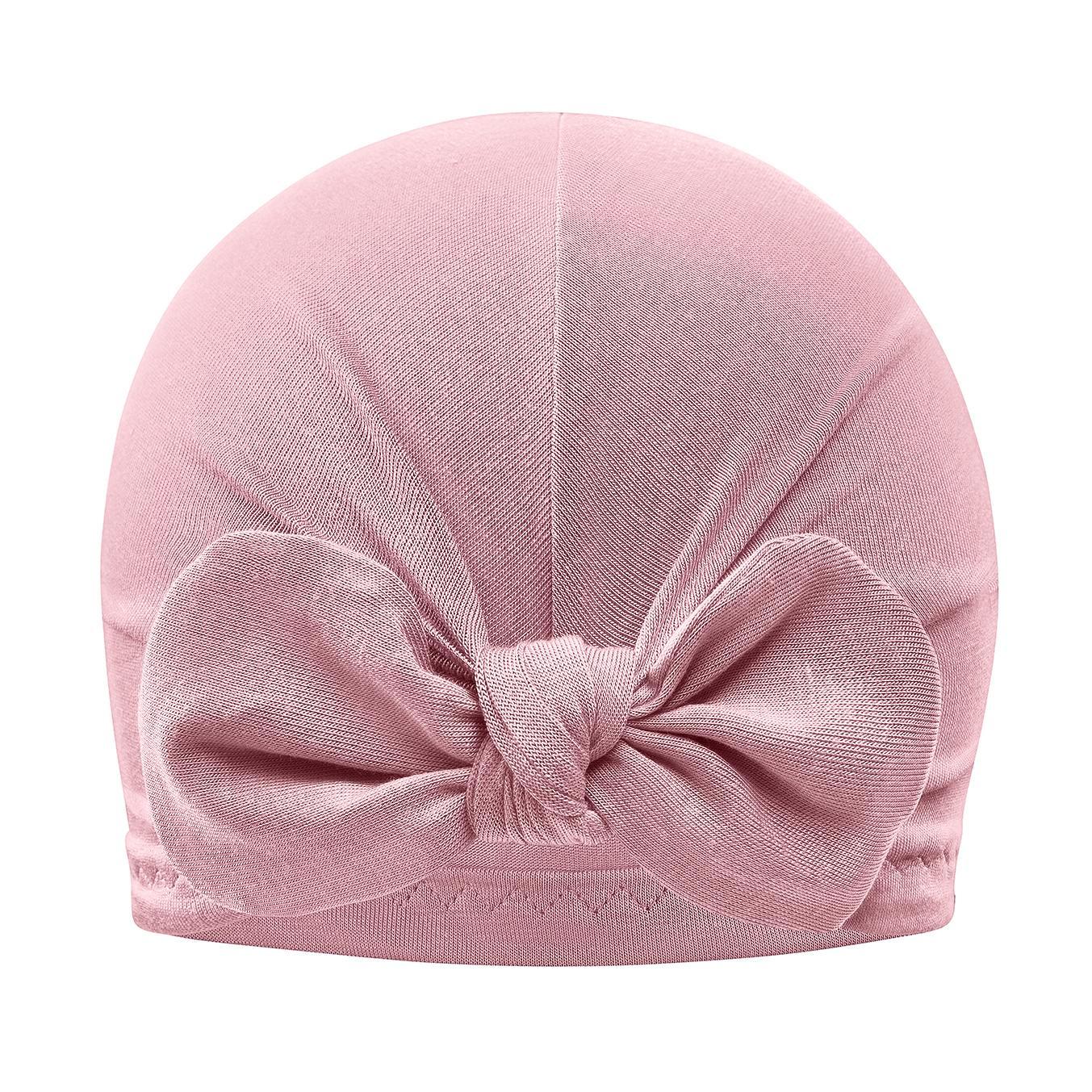 Otroška turban kapica, BLUSH PINK