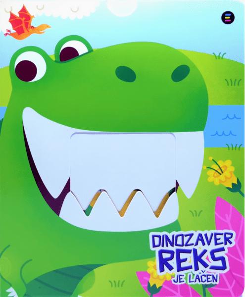 Dinozaver Reks je lačen, kartonka