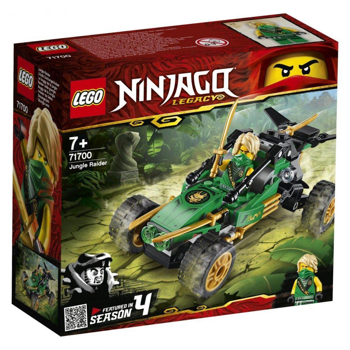 LEGO 71700 – Džungelski dirkalnik