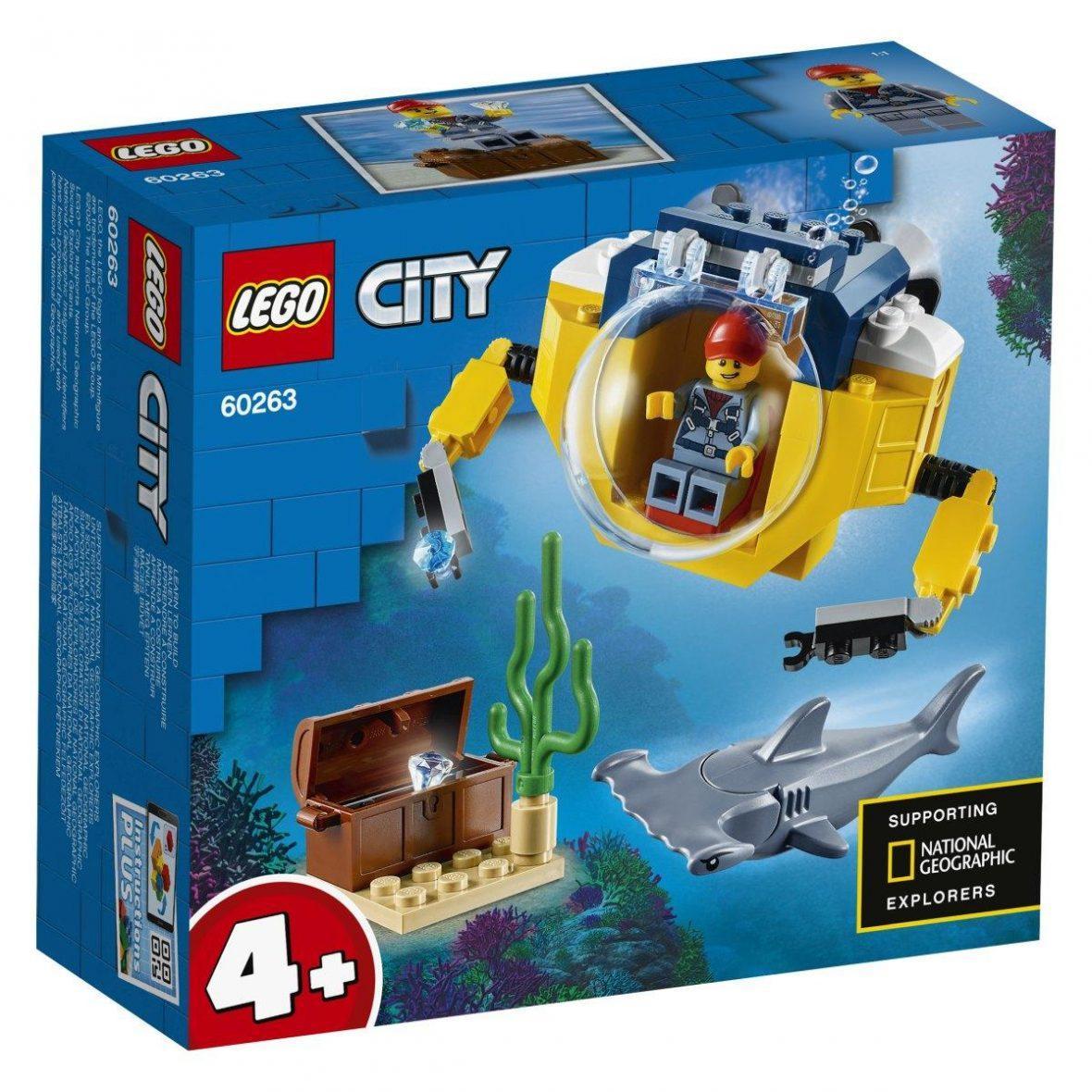 LEGO 60263 – Oceanska mini podmornica