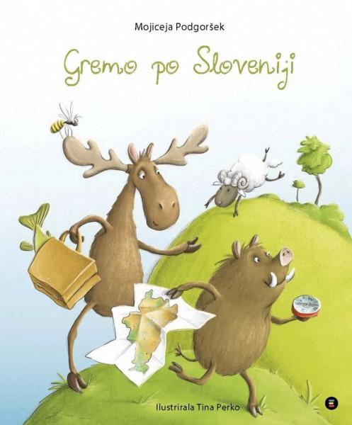 Gremo po Sloveniji, slikanica