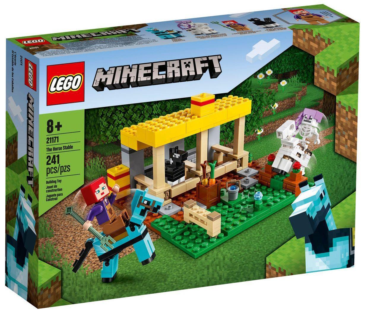 LEGO 21171 – Minecraft konjski hlev