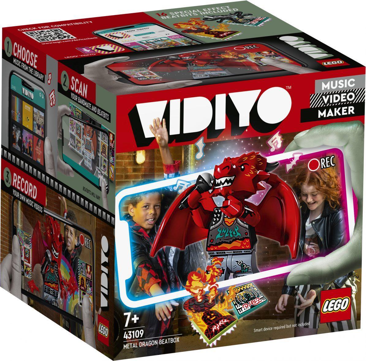 LEGO 43109 – Metal dragon BeatBox