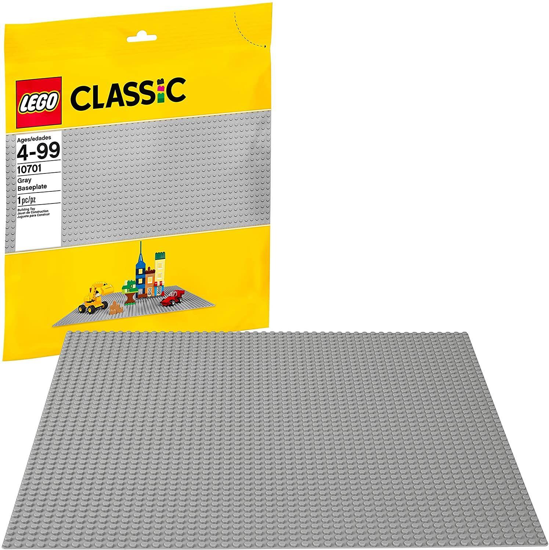 LEGO 10701 – Siva osnovna plošča