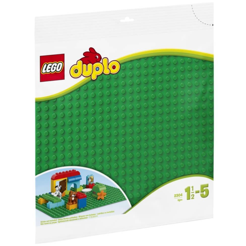 LEGO 2304 – Zelena plošča DUPLO