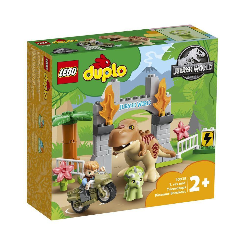 LEGO 10939 – Pobeg tiranozavra in triceratopa