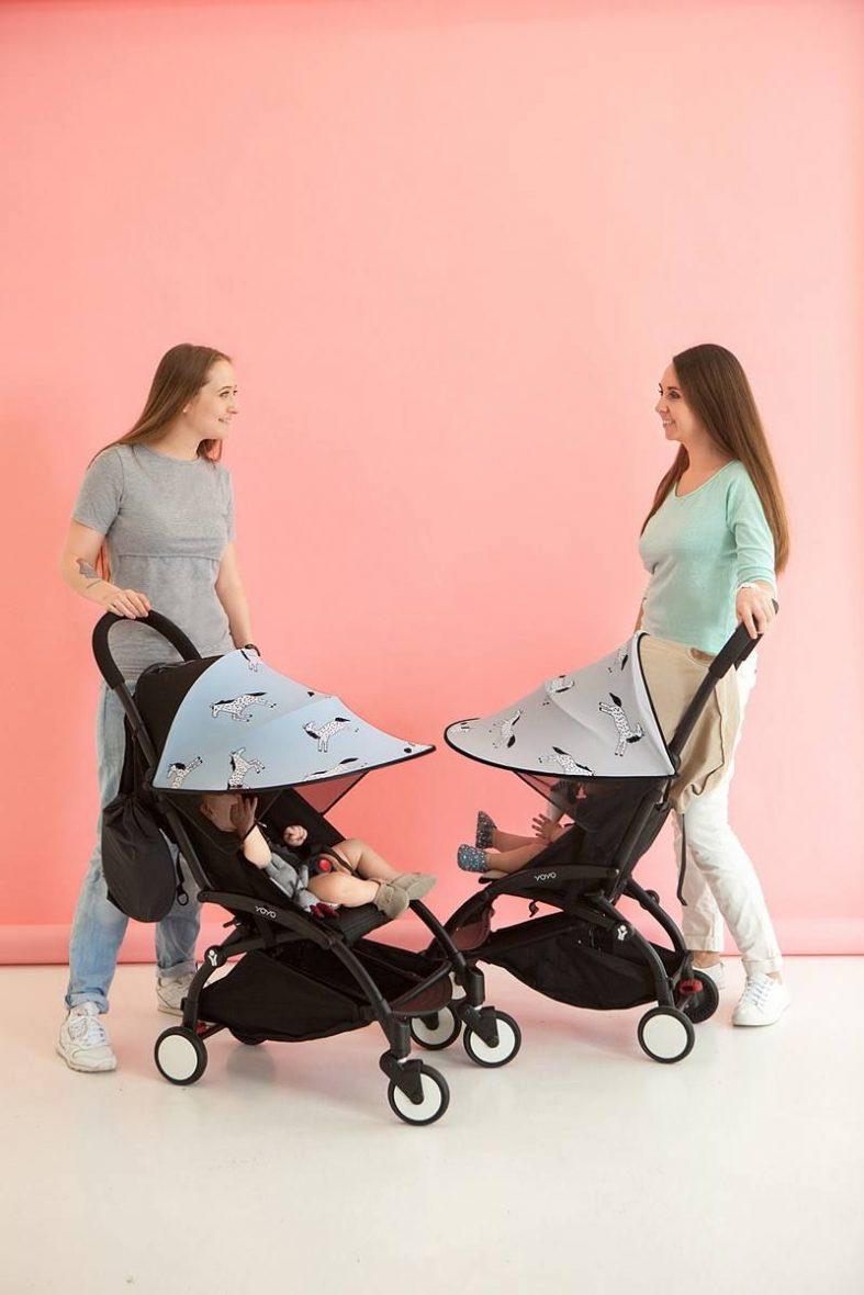 LEOKID® senčnik za voziček, Blue Magic Horse