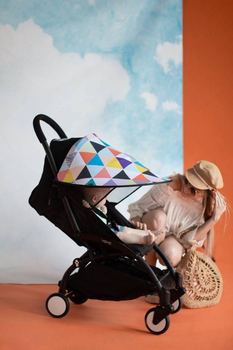 LEOKID® senčnik za voziček, Color Newbies