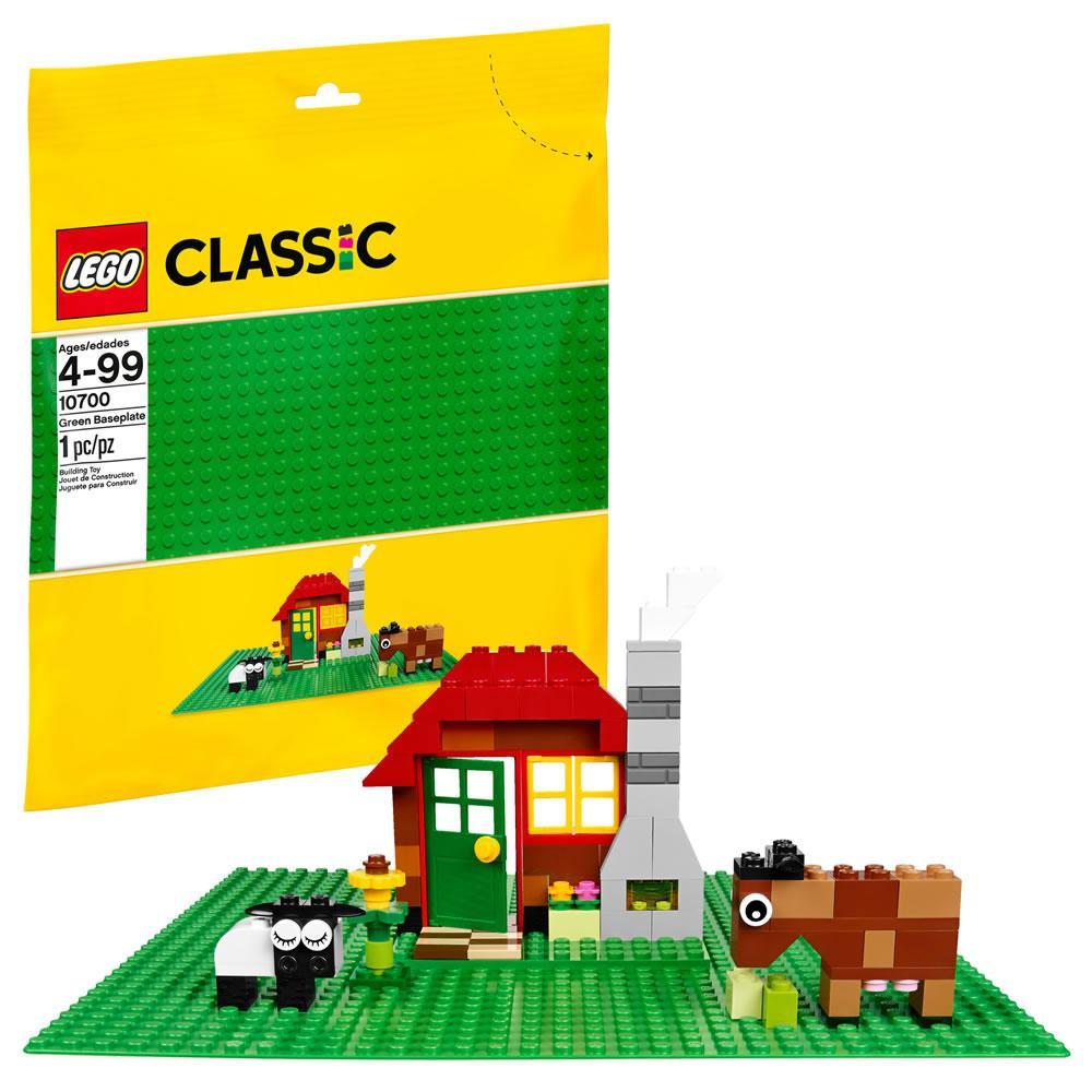 LEGO 10700 – Zelena osnovna plošča