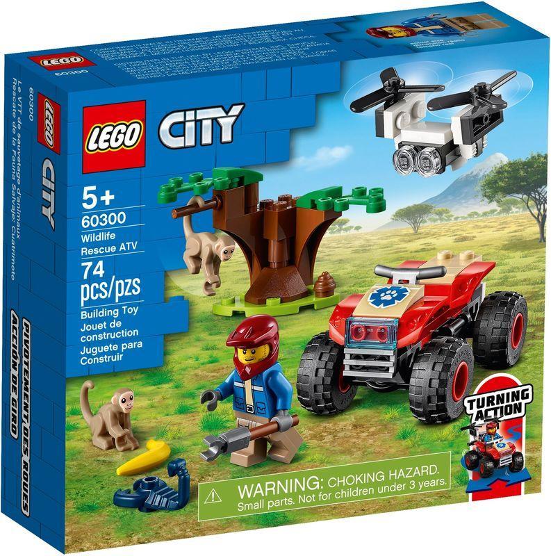 LEGO 60300 – Terenski štirikolesnik za reševanje