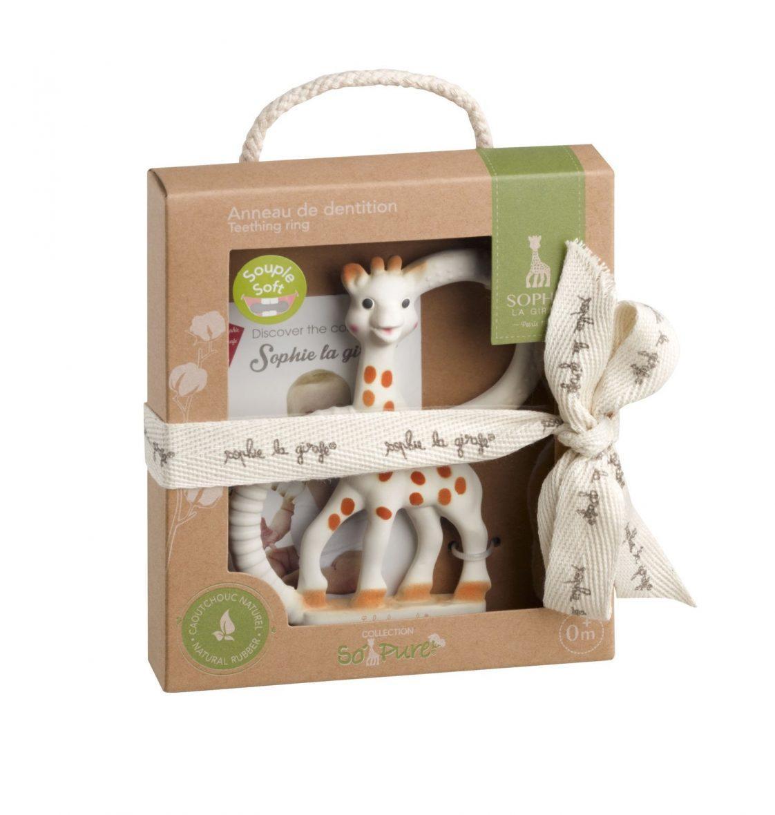 Obroček za grizenje žirafa SOPHIE, Vulli